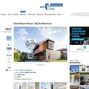 Naremburn House, archdaily.com