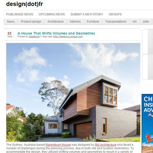 Naremburn House, design.fr