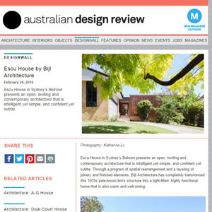 Escu House, australiandesignreview.com