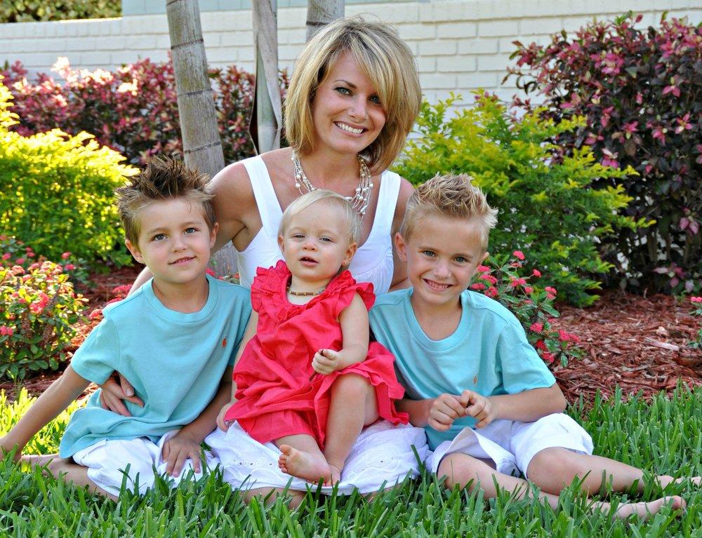 Jessica Wilson & her children
