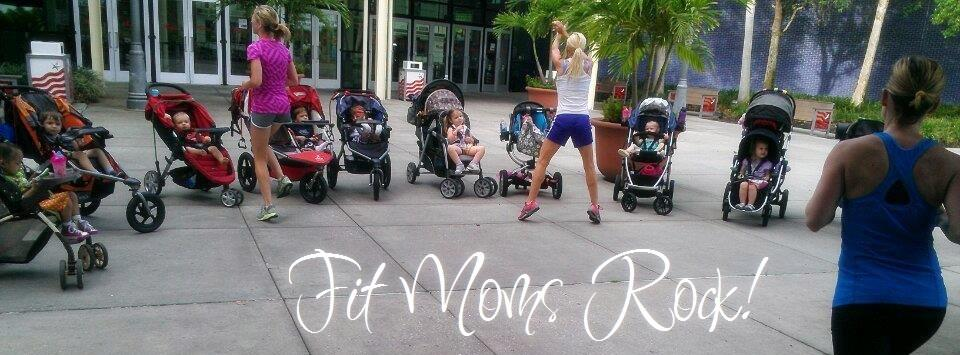 Fit4Moms Tampa Bay - working out with baby!