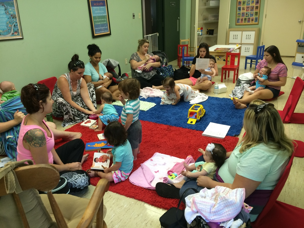 Weekly Circle of Mothers, every Tuesday, 10:30 - 1:00 pm at the UUC,  2470 Nursery Road Clearwater, FL 33764.