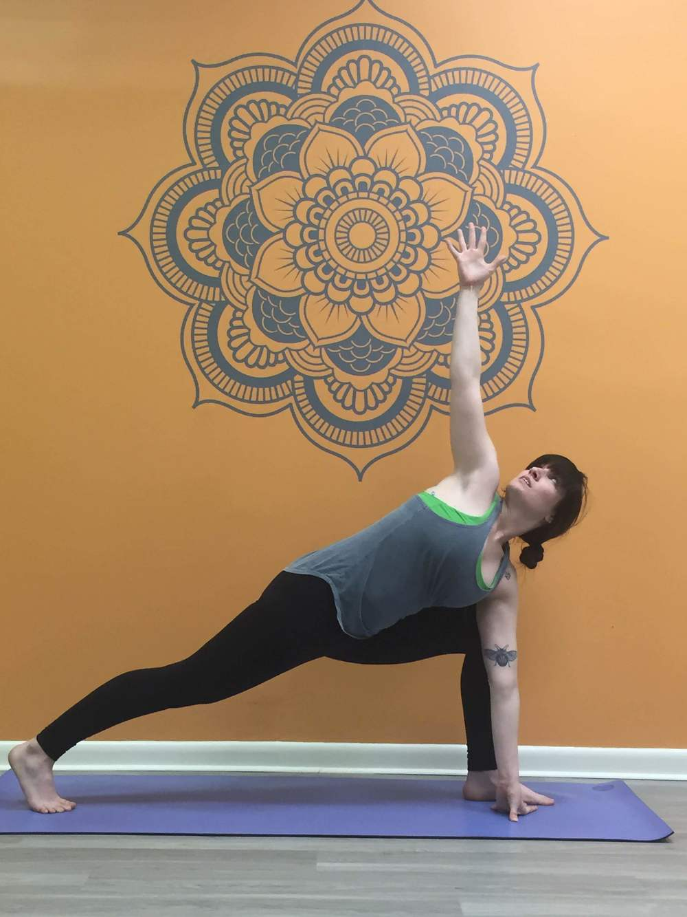 Birthmarks Yoga Instructor, Sara Gilbert