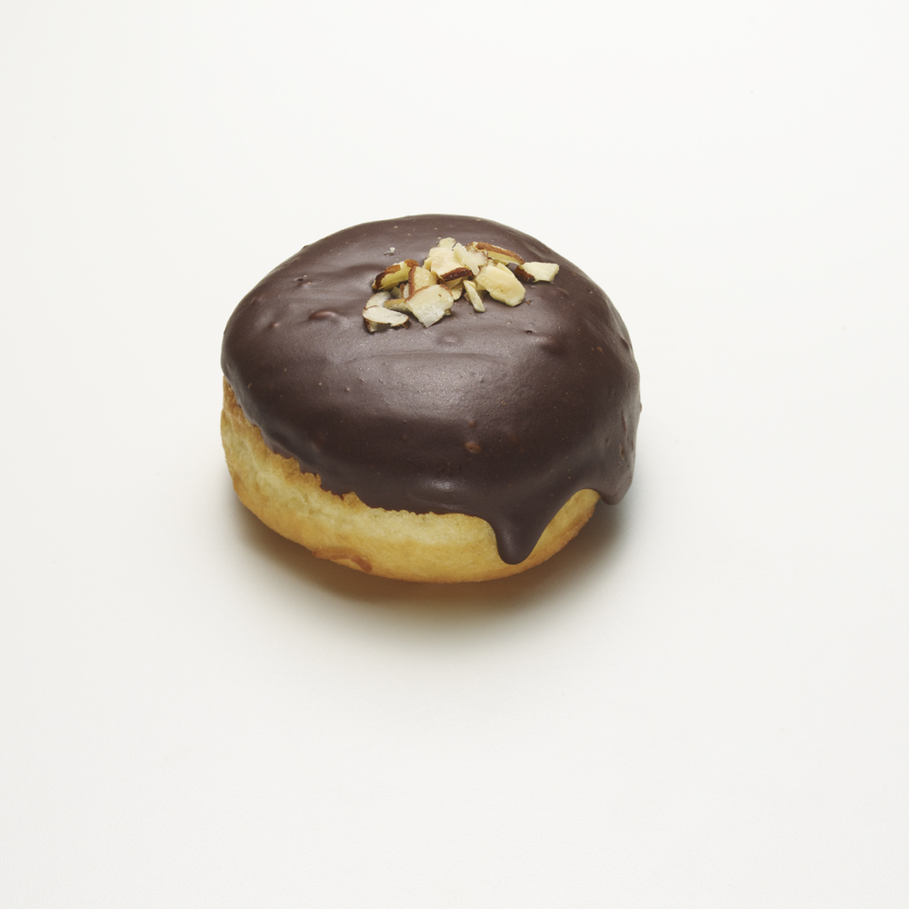 VARGA GIRL   •  almond cream, chocolate & shaved almonds