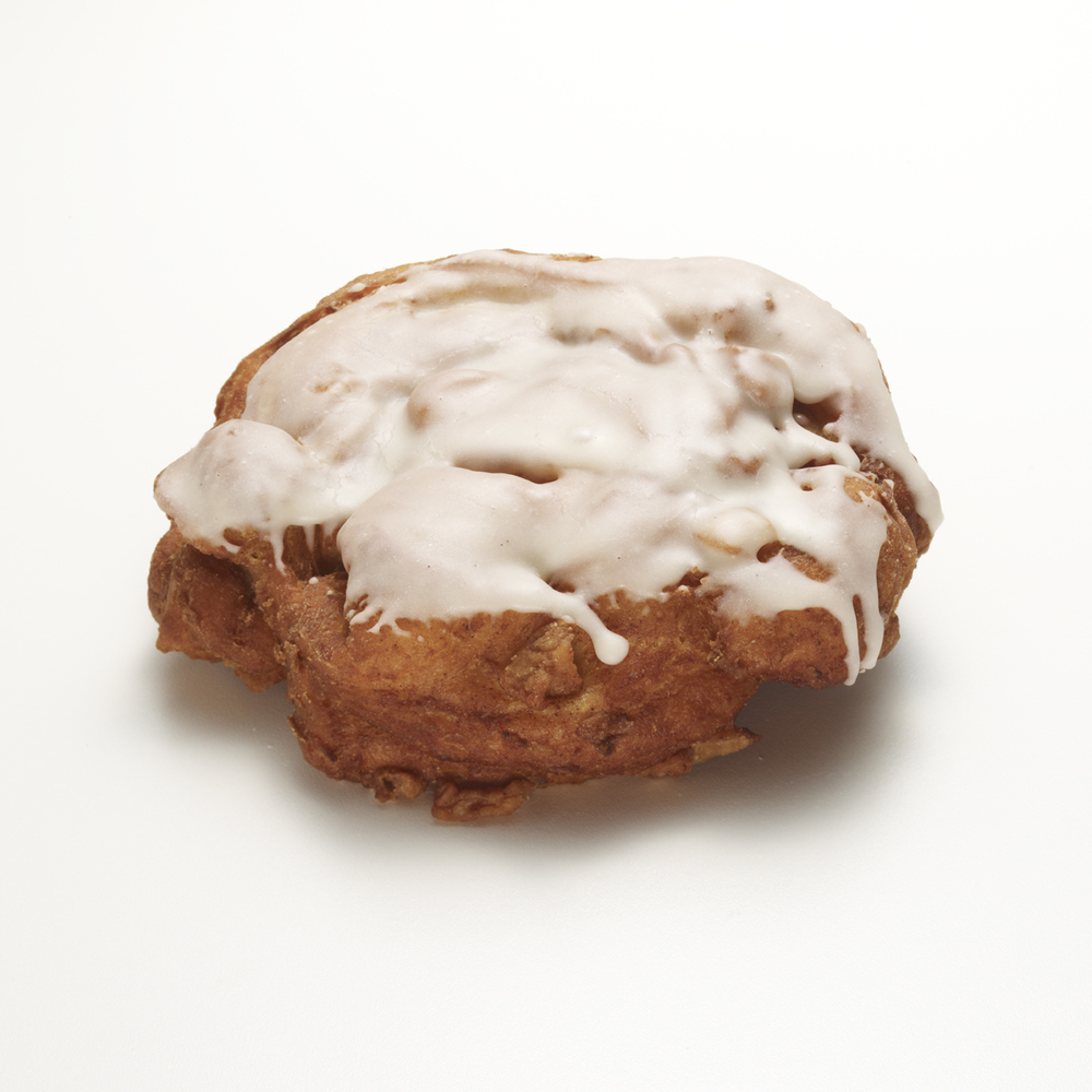 PINUP GIRL   •  apple bourbon fritter