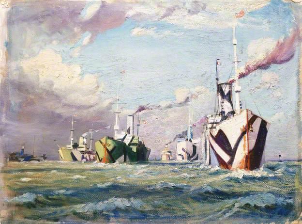 A Convoy of the First World War John Evrett c. 1918