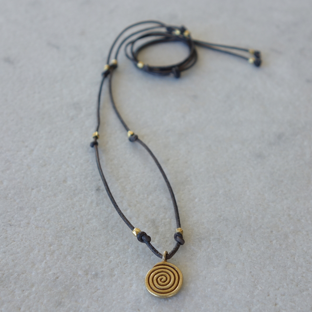 Vermeil Infinity Pendant