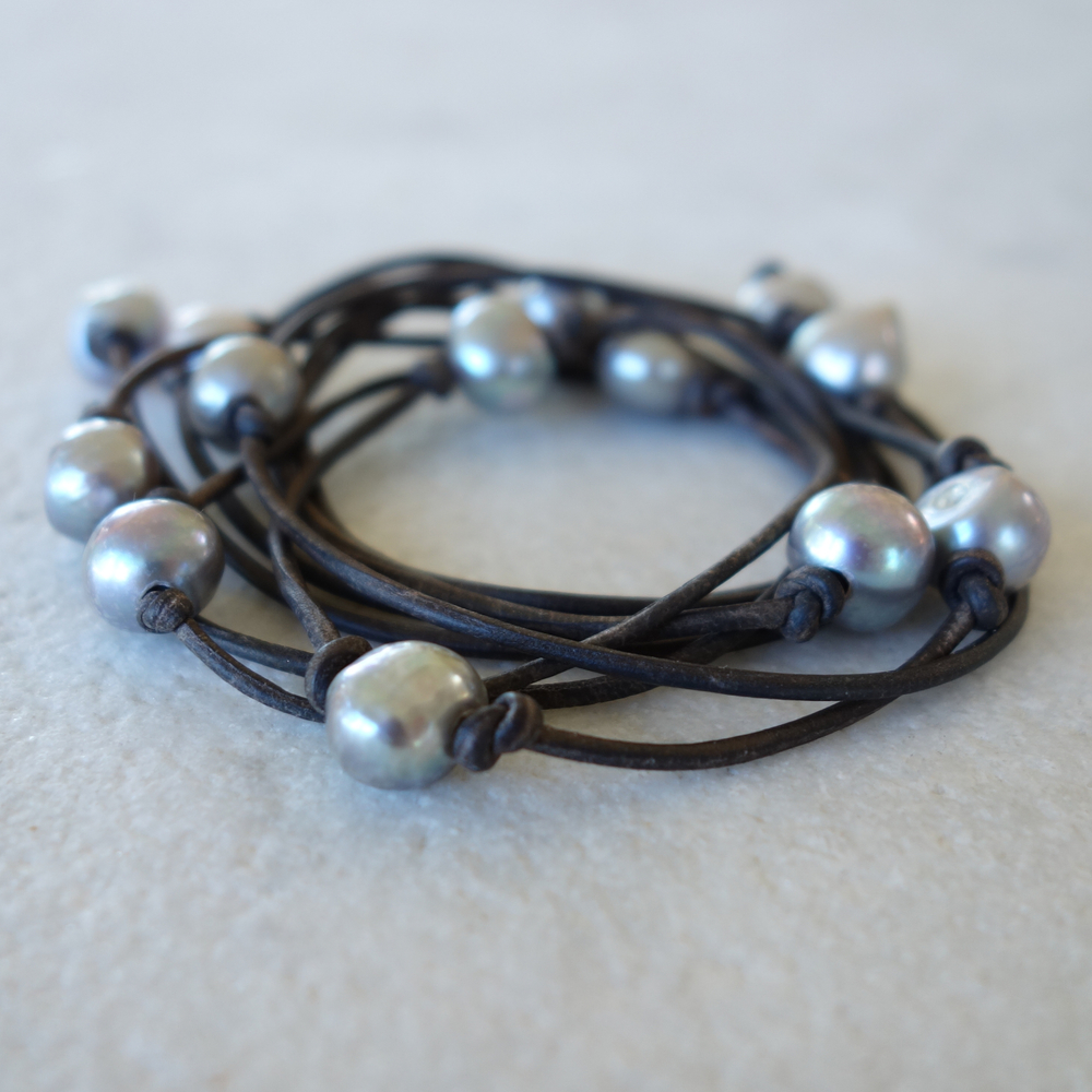 Freshwater Pearl Bracelet or Necklace