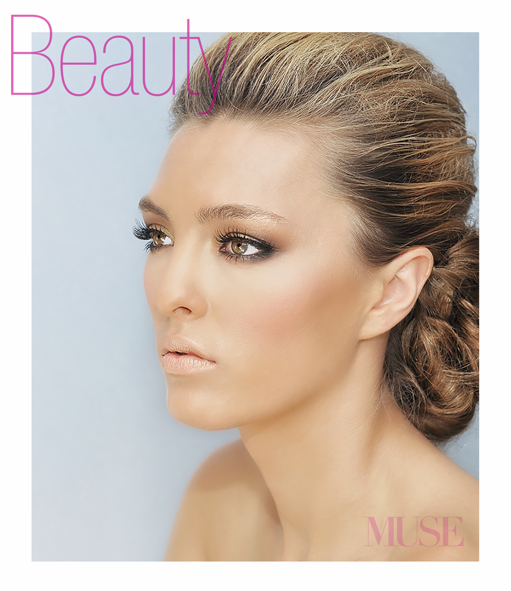 Click to view MUSE Beauty makeup and hair.