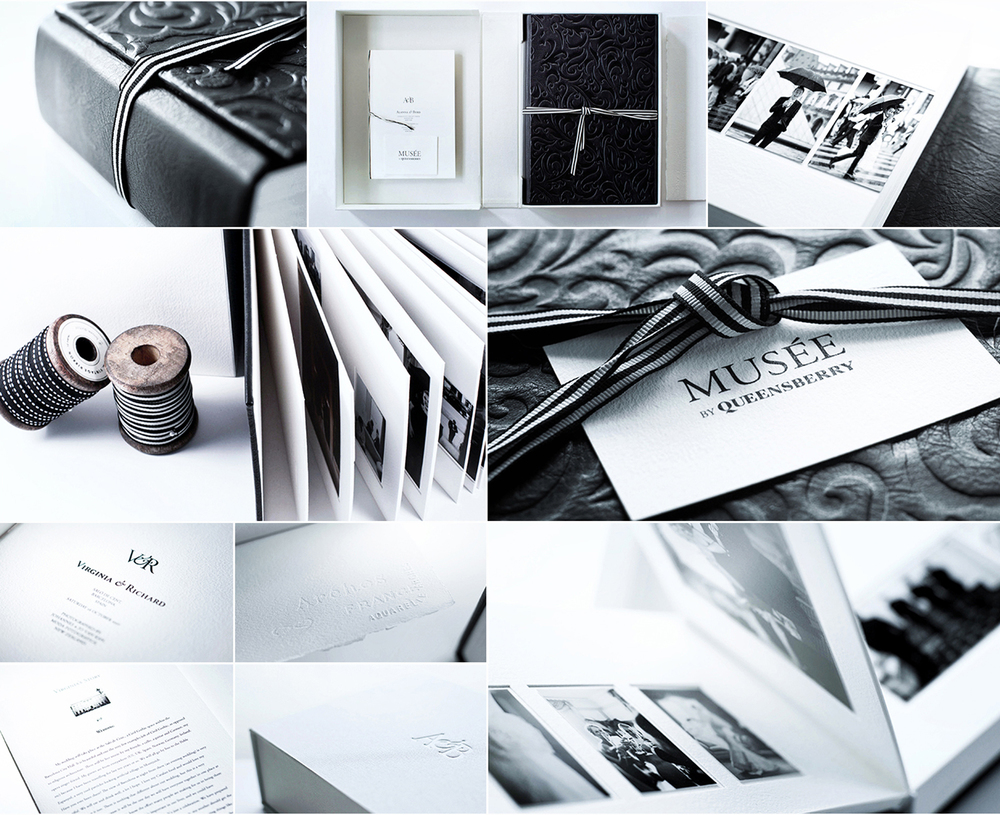 Click to inquire about a MUSE Bride handmade wedding albums.