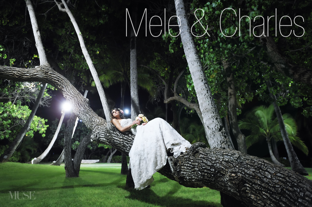 A complete set of photos from Mele's wedding will be posted online shortly. Thank you for your patience. Click to view a larger size version of this photo.