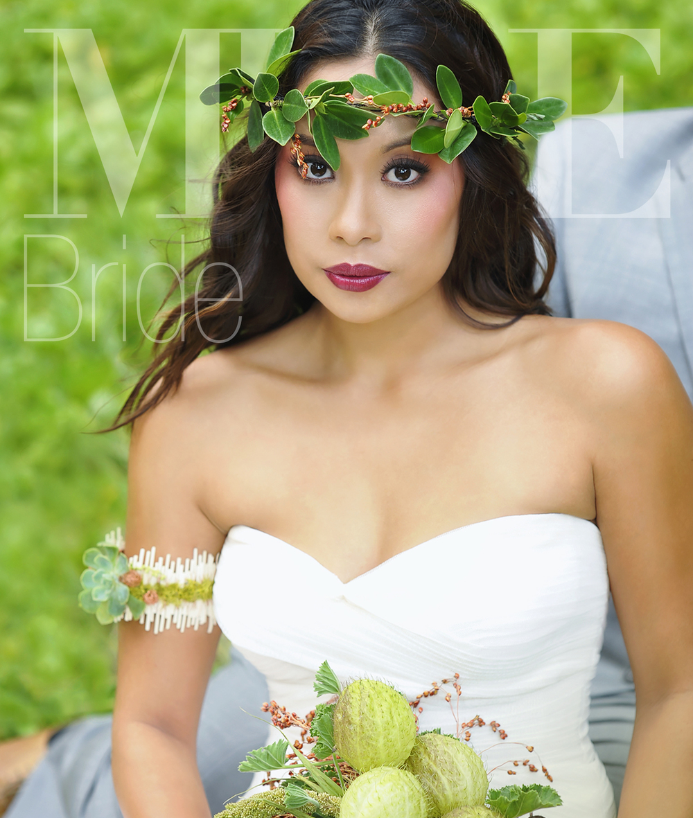 MUSE Bride - Based in Hawaii and servicing luxury destination weddings on Oahu, Maui, Kauai, Lanai, the Big Island, North America, Europe, and Asia. Click to view MUSE Bride's wedding makeup and hair portfolio.