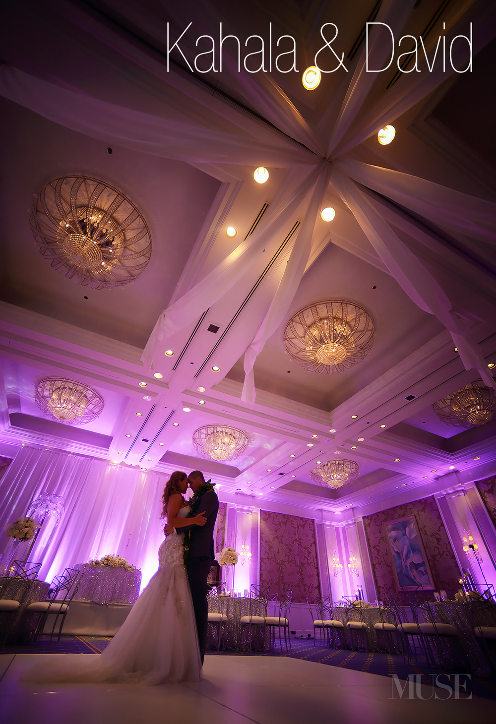 Click to view this photo from Kahala and David's beautiful wedding at the JW Marriott Ihilani.
