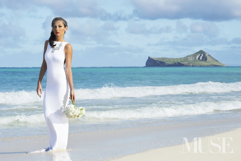 MUSE Bride Editorial Waimanalo