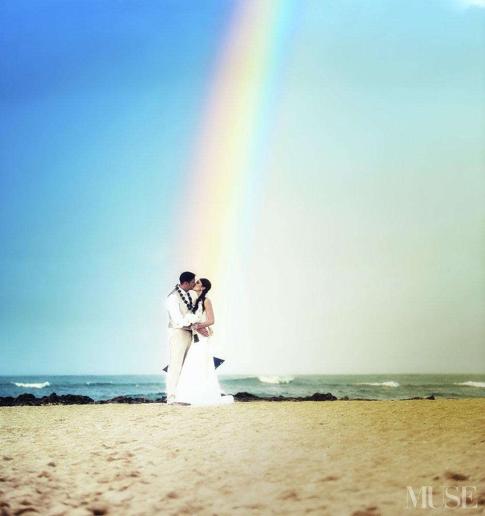 MUSE Bride Wedding Turtle Bay Hilton