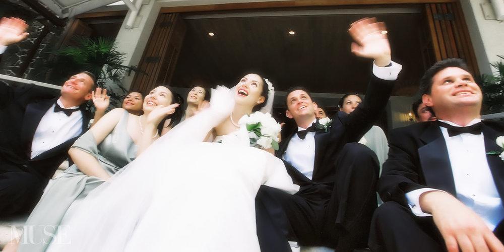 MUSE Bride Wedding Halekulani Hotel