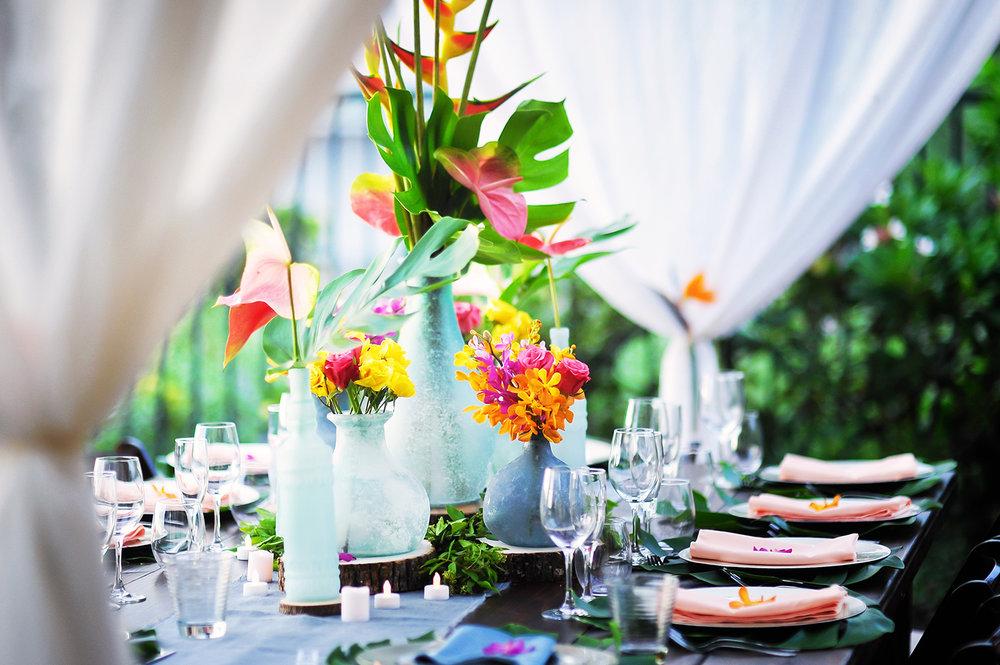 MUSE Bride Holualoa Wedding Details