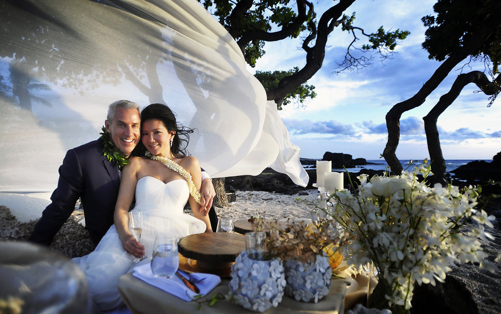 Alohilani Weddings Elopement Kikaua Point