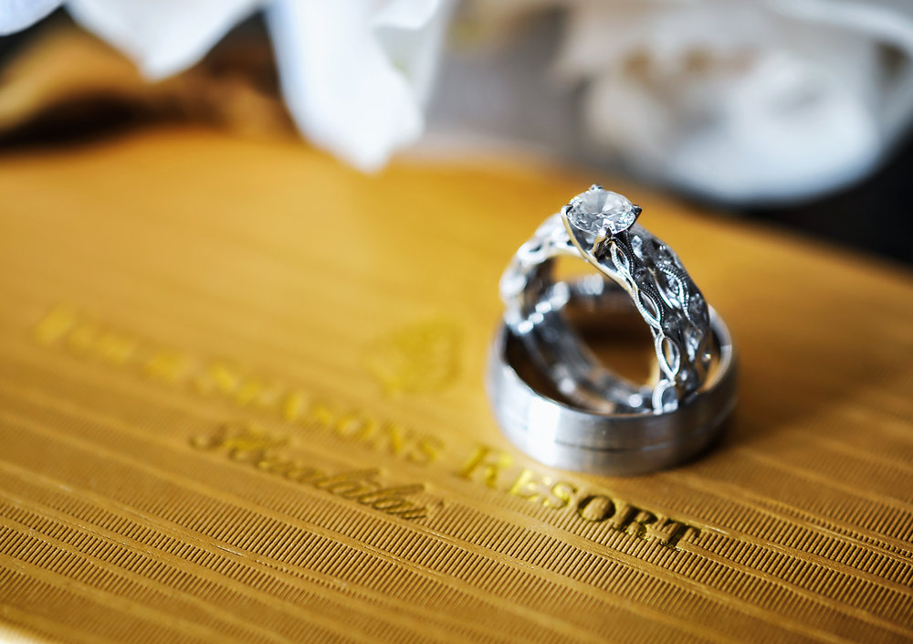 Alohilani Weddings - Four Seasons Hotel Details