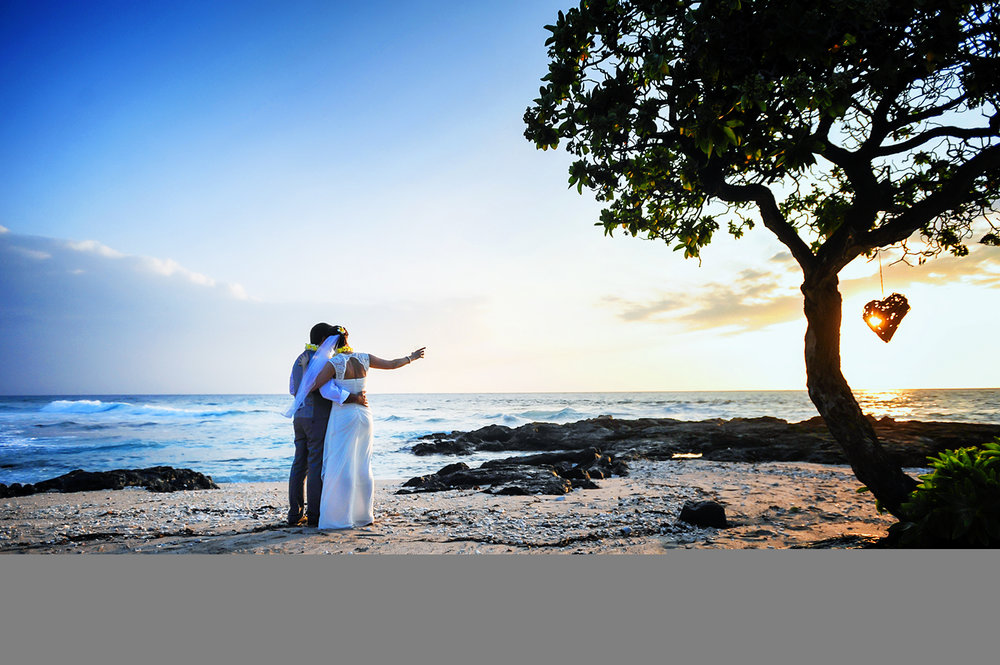 Alohilani Weddings - Elopement Sunset