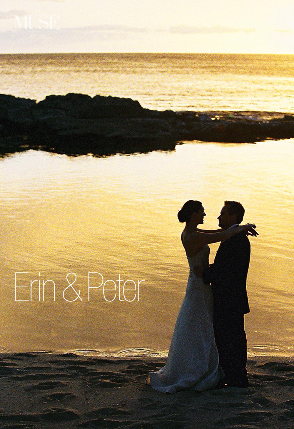 MUSE Bride Erick Rhodes Photography Laniku Sunset Wedding