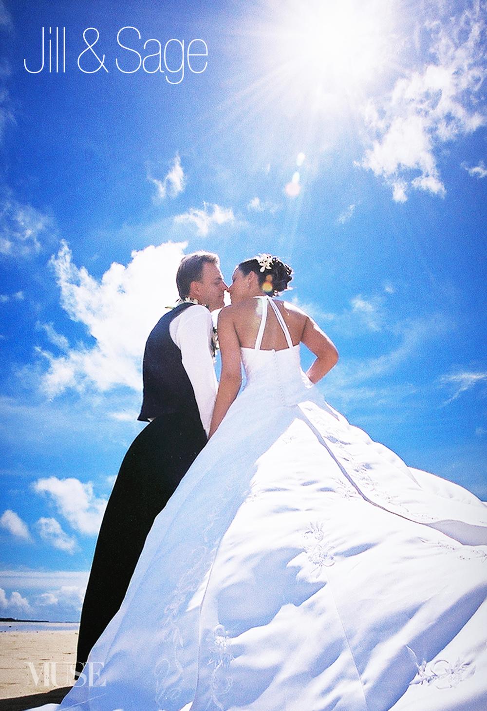 MUSE Bride Erick Rhodes Photography Kaneohe Bay Sand Bar Wedding