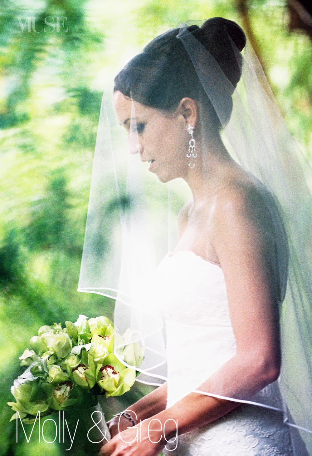 MUSE Bride Erick Rhodes Photography Kauai Wedding Portrait