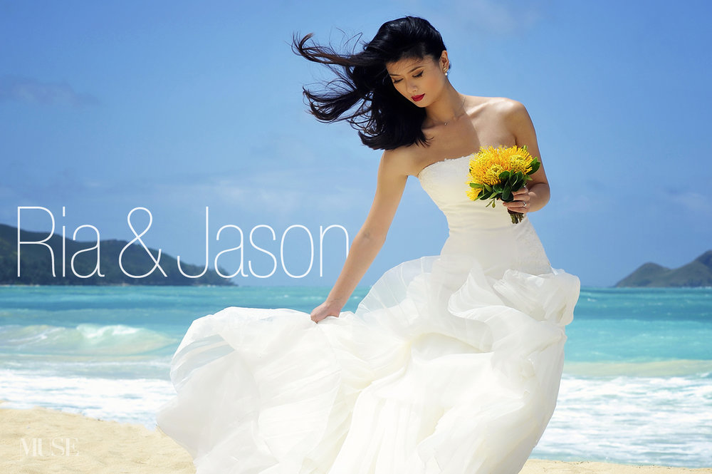 MUSE Bride Erick Rhodes Photography Waimanlo Editorial