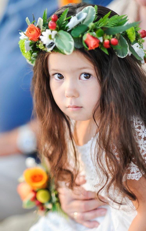 Alohilani Weddings Erick Rhodes Photography Flower Girl