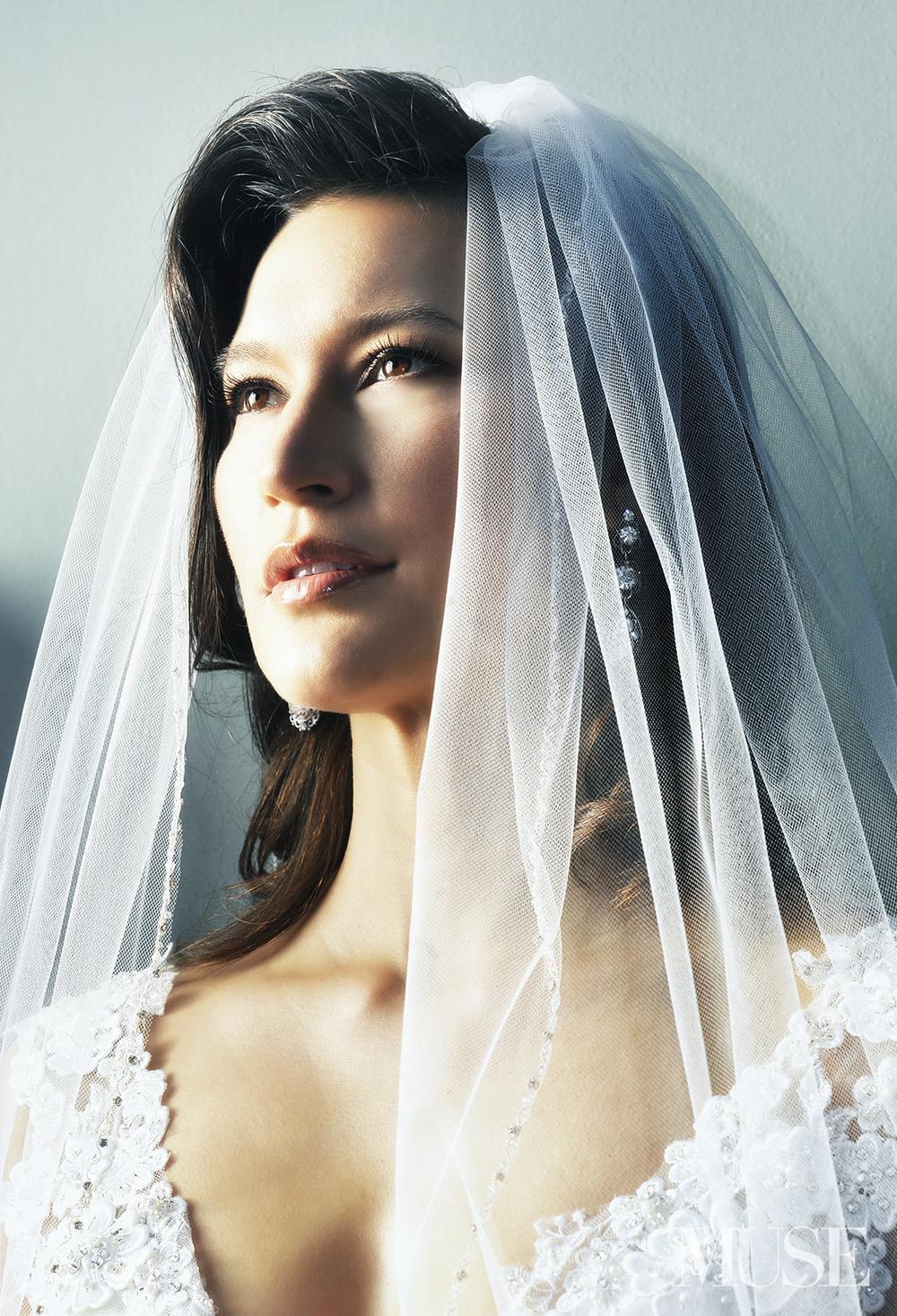 MUSE Bride Erick Rhodes Photography Bridal Portrait