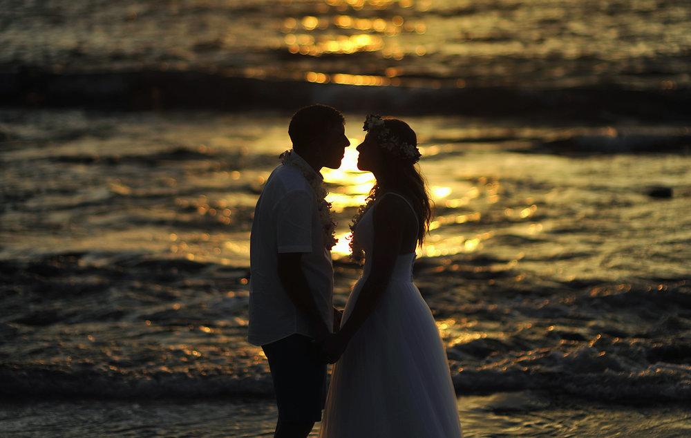 Alohilani Weddings Erick Rhodes Photography Kukio Sunset