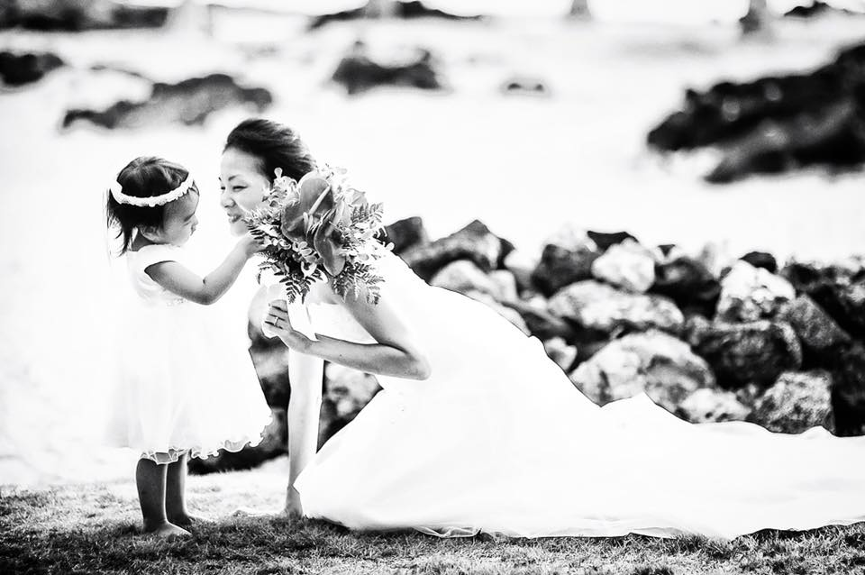 Alohilani Weddings Erick Rhodes Photography Flower Girls