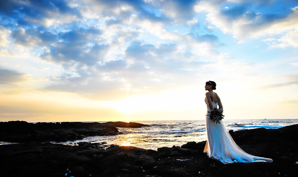 Alohilani Weddings Erick Rhodes Photography Sunset Portrait