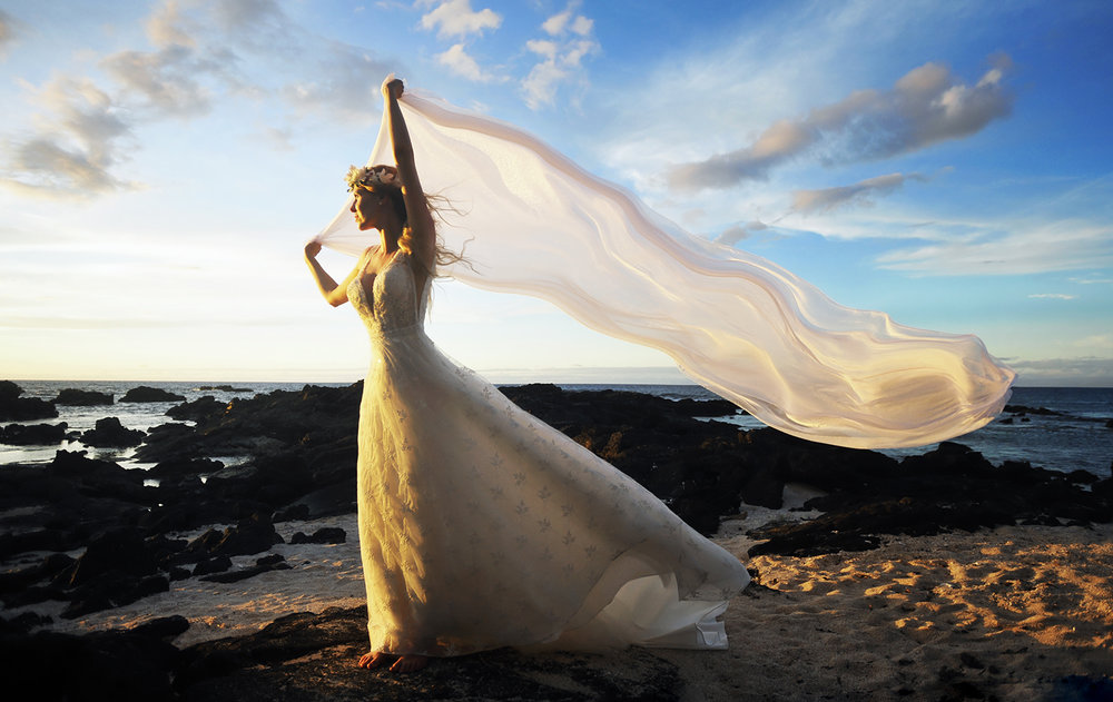 Alohilani Weddings - Kikaua Point Sunset