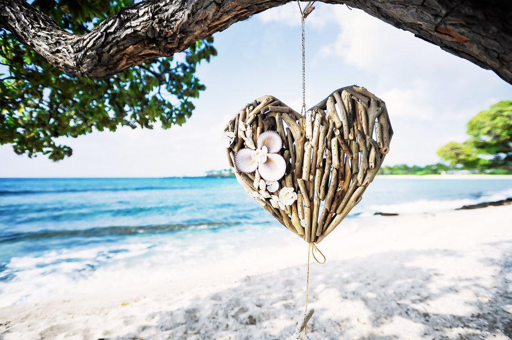 Alohilani Weddings - Hearts