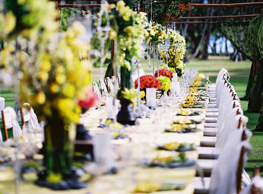 MUSE Bride - Lanikuhonua Wedding Details
