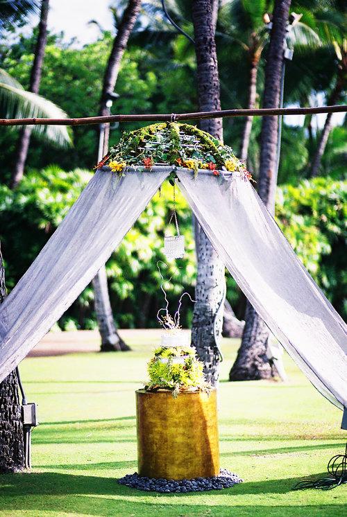 MUSE Bride Erick Rhodes Photography Lanikuhonua Wedding Cake