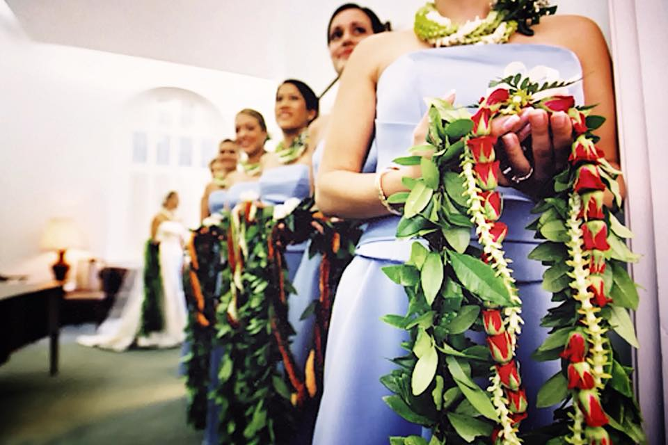MUSE Bride Erick Rhodes Photography Central Union Church Hawaii Wedding