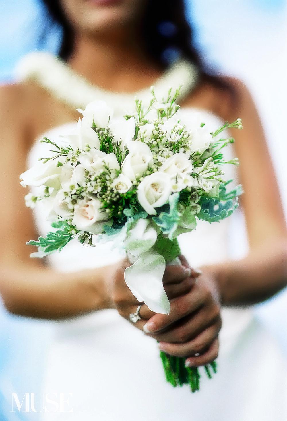 MUSE Bride Erick Rhodes Photography Wedding Flowers