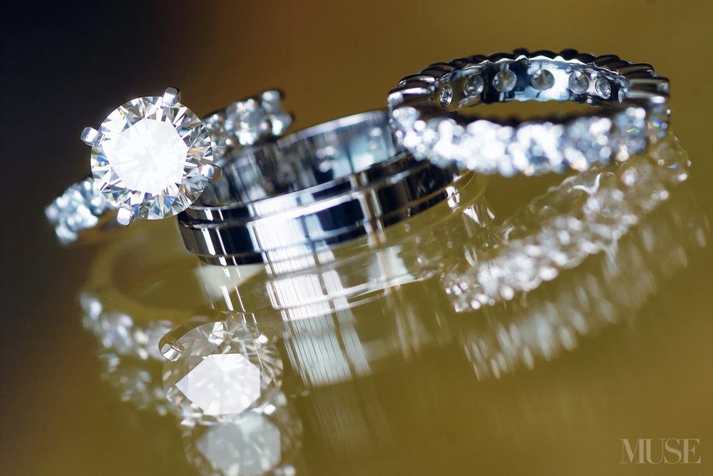 MUSE Bride Erick Rhodes Photography Kauai Wedding Rings