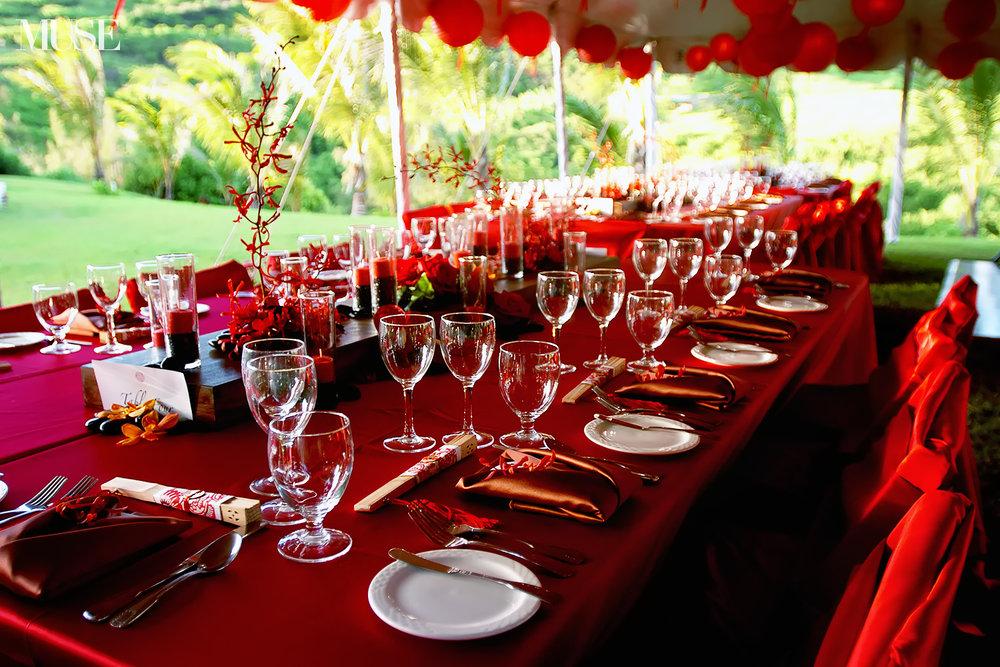 MUSE Bride - Kauai Wedding Reception
