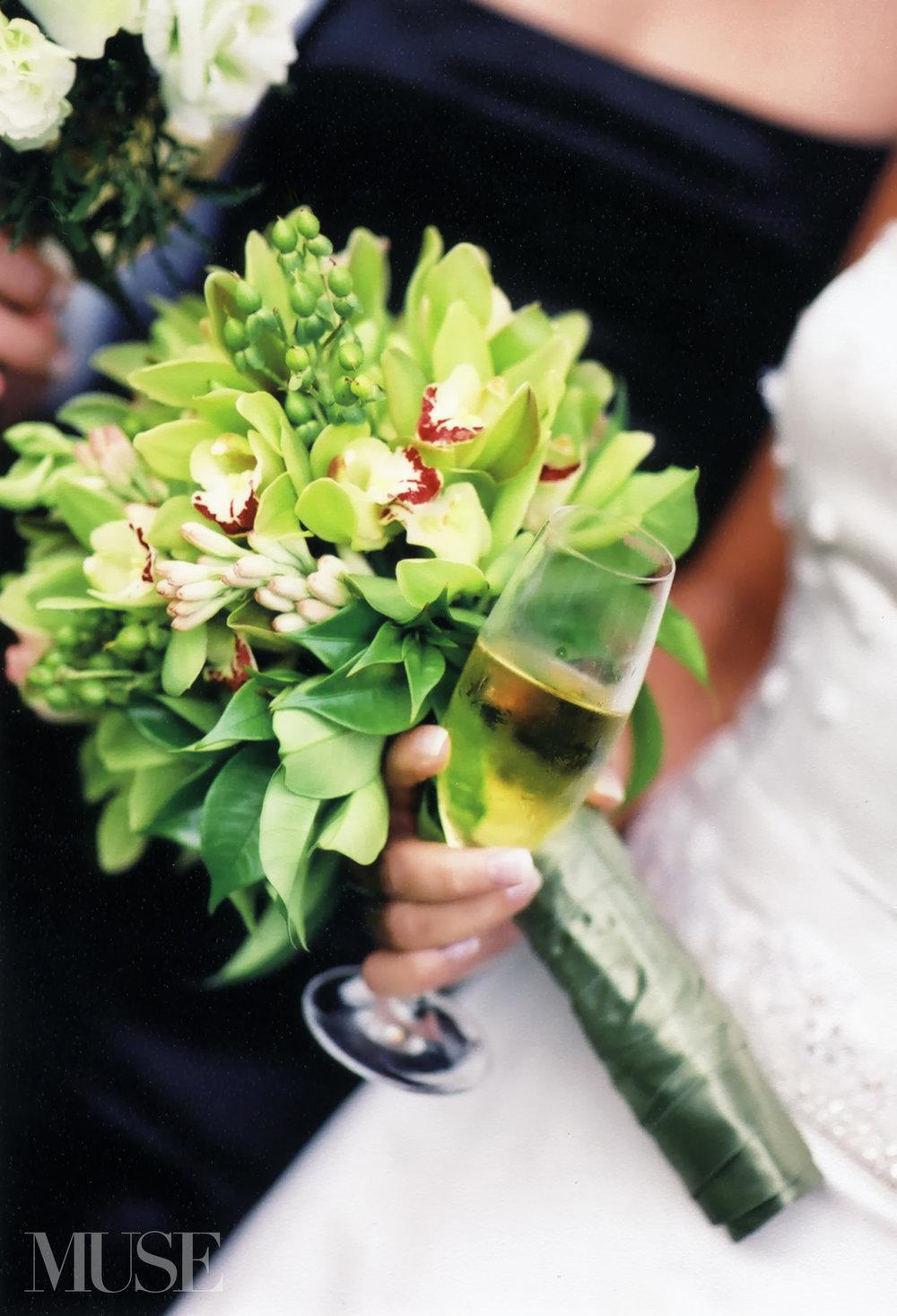 MUSE Bride Erick Rhodes Photography Koele Lodge Wedding Flowers