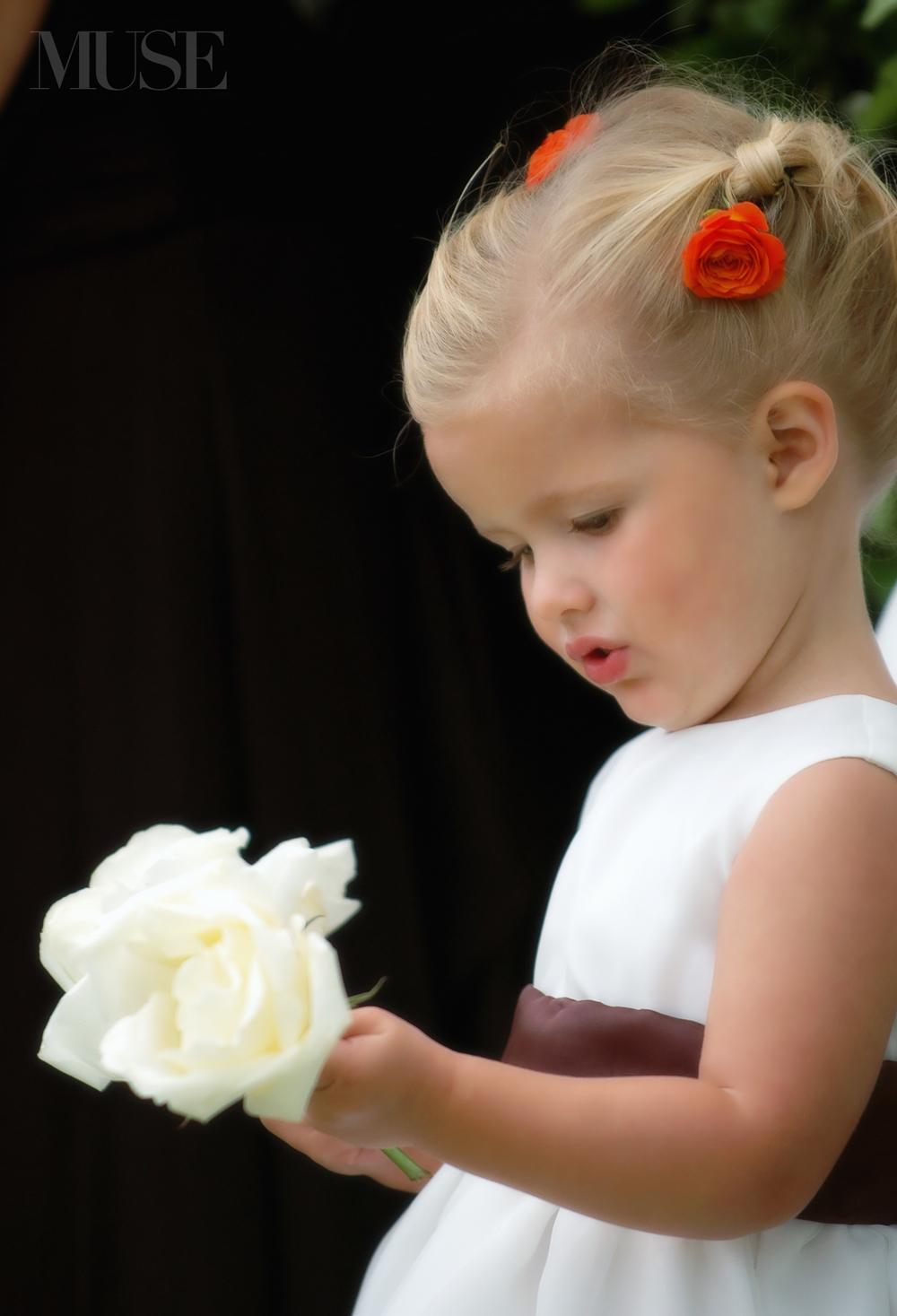 MUSE Bride Erick Rhodes Photography Flower Girls
