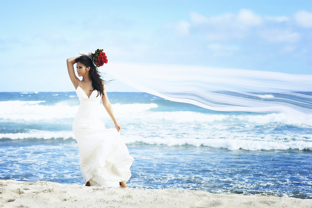 MUSE Bride Erick Rhodes Photography Moani in the Wind
