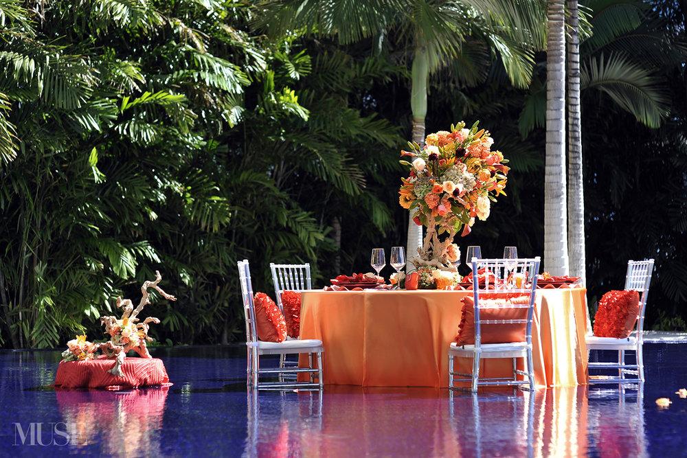 MUSE Bride Lookbook - Flowers . Orange