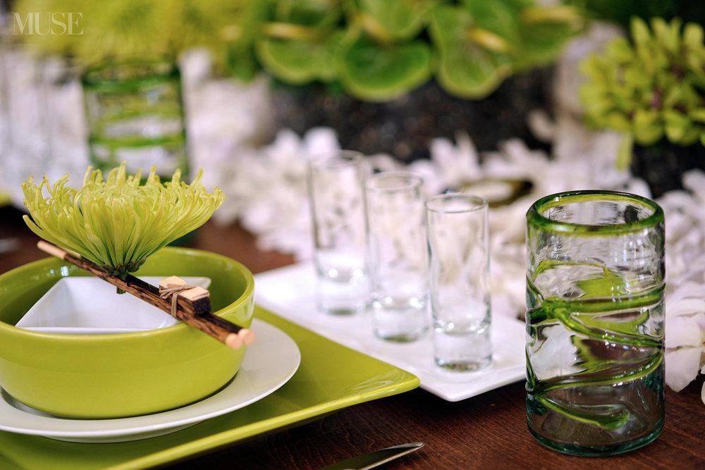 MUSE Bride Lookbook - Flowers . Green