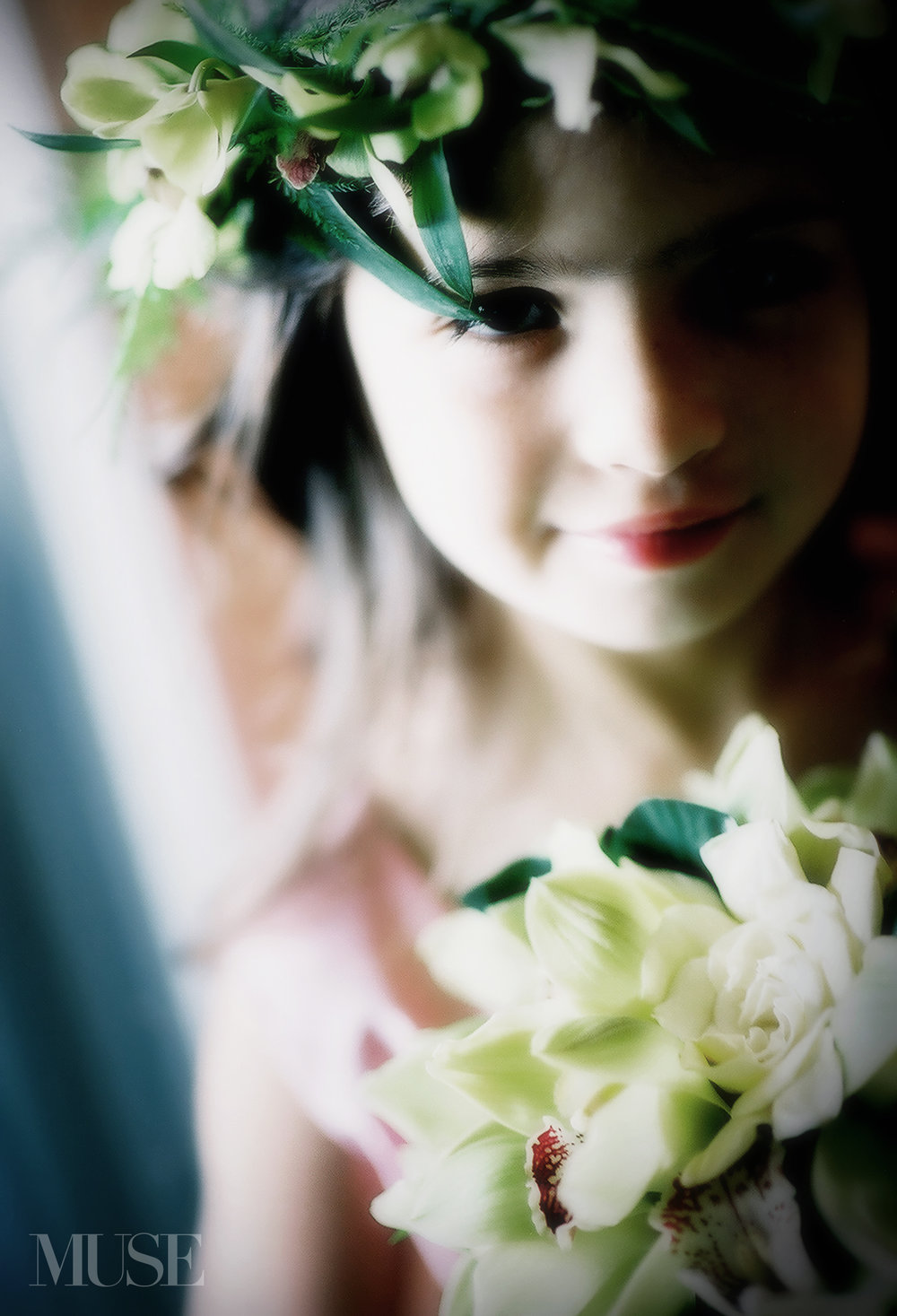MUSE Bride Lookbook - Flowers . Green