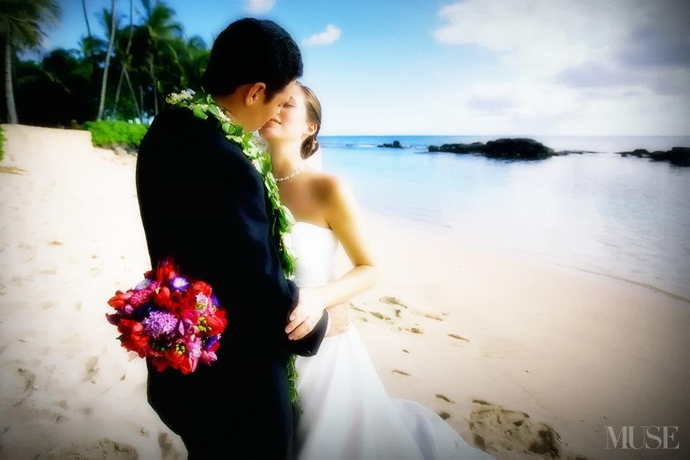 MUSE Bride Lookbook - Flowers . Purple