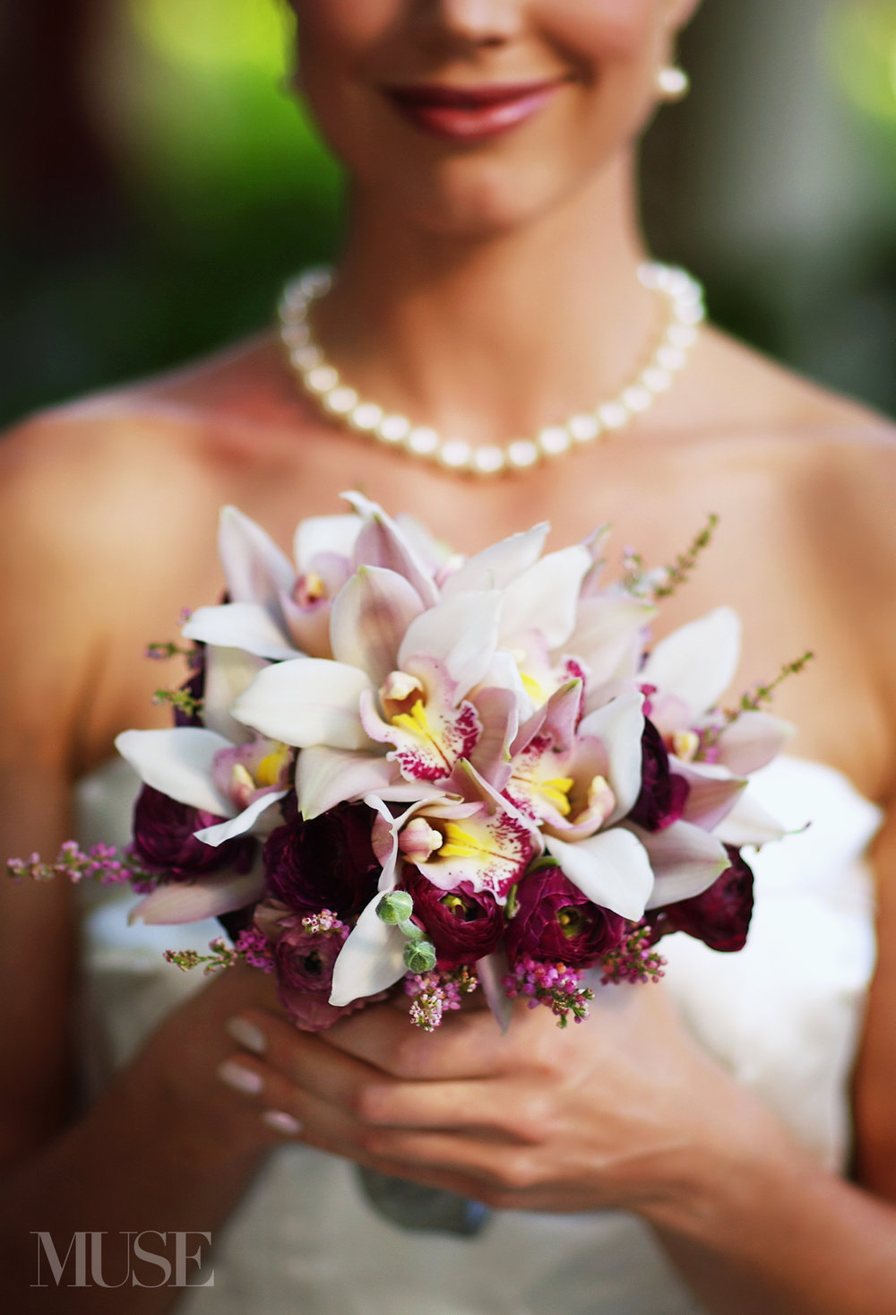 MUSE Bride Lookbook - Flowers . Purple