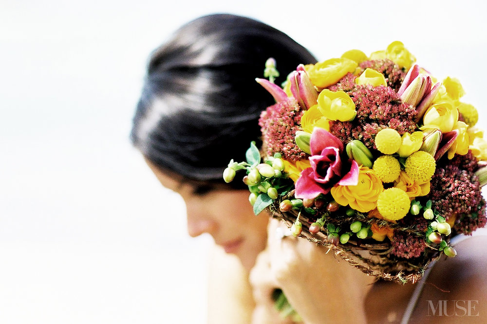 MUSE Bride Lookbook - Flowers . Yellow